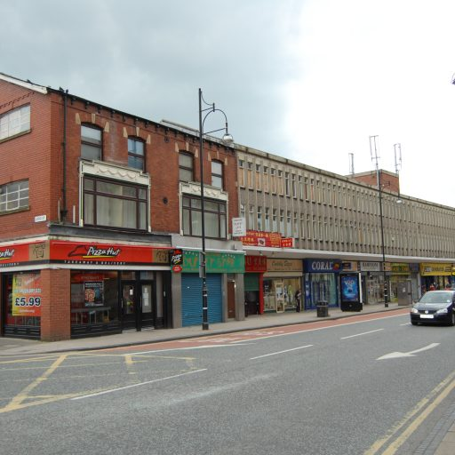 FOR SALE -INVESTMENT/PART VACANT – Mixed Use, High Street – 13-15 Market Street, Leigh, WN7 1DR