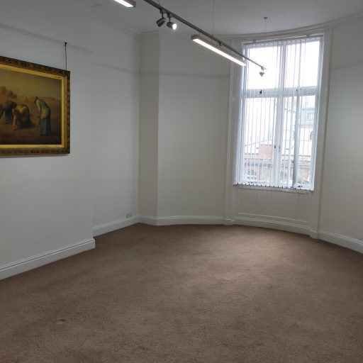 TO LET – VACANT – Office Premises – First Floor Rear Office to Let, 78 Mount Pleasant, Central Liverpool